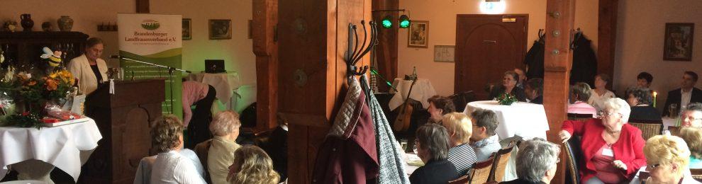 Der Brandenburger Landfrauenverband e.V. feiert 25-jähriges Jubiläum