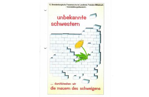 Ankündigung zu einer Veranstaltung in Potsdam Mittelmark