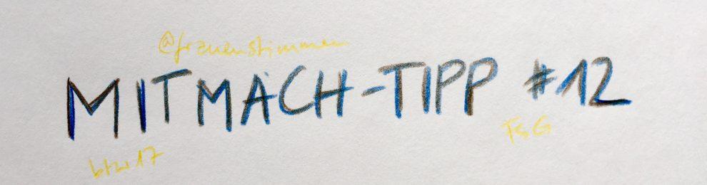Mitmach-Tipp #12