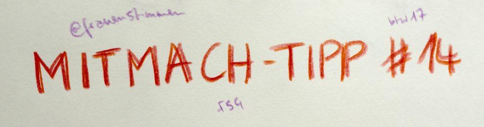 Mitmach-Tipp #14