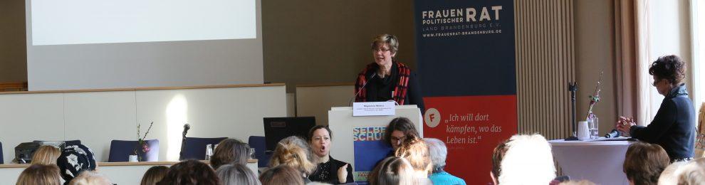 """""""Selber Schuld"""" – Auftaktveranstaltung zur 28. Brandenburgischen Frauenwoche"""