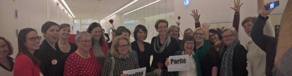Frauen. Macht. Politik. – Parität im Parlament!